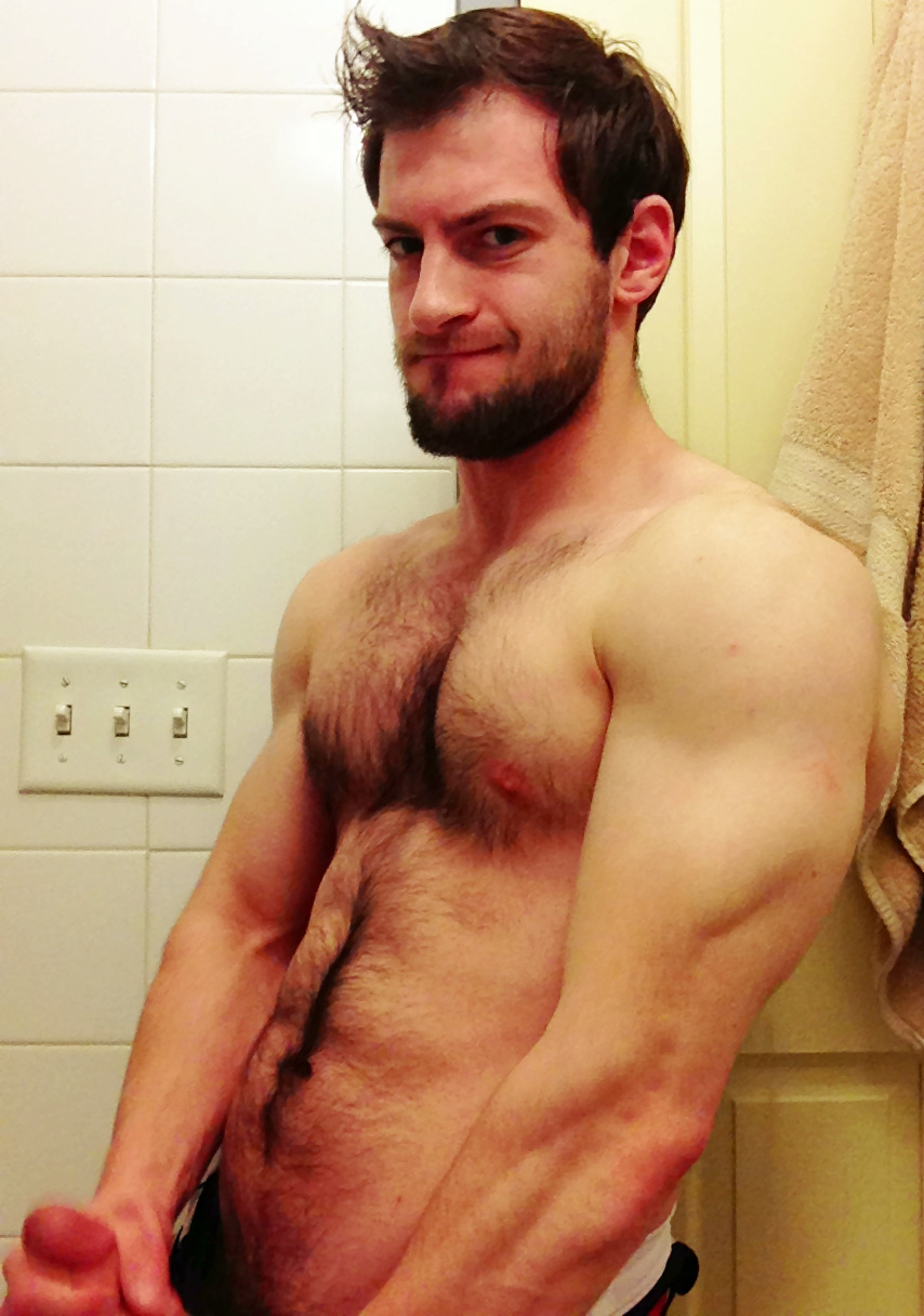 bravodelta9:  This is what it looks like when I jack off standing up.