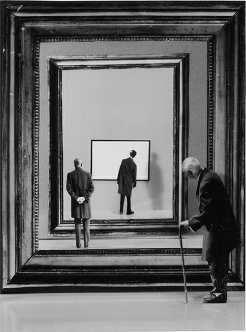 artemisdreaming:  Above: Gilbert Garcin . One day or one night—between my days and nights, what difference can there be?—I dreamed that there was a grain of sand on the floor of my cell. Unconcerned, I went back to sleep; I dreamed that I woke up and there were two grains of sand. Again I slept; I dreamed that now there were three. Thus the grains of sand multiplied, little by little, until they filled the cell and I was dying beneath that hemisphere of sand. I realized that I was dreaming; with a vast effort I woke myself. But waking up was useless—I was suffocated by the countless sand. Someone said to me:You have wakened not out of sleep, but into a prior dream, and that dream lies within another, and so on, to infinity, which is the number of the grains of sand. The path that you are to take is endless, and you will die before you have truly awakened.I felt lost. The sand crushed my mouth, but I cried out: I cannot be killed by sand that I dream —nor is there any such thing as a dream within a dream.— Jorge Luis Borges, The Writing of the God, The Aleph and Other Stories