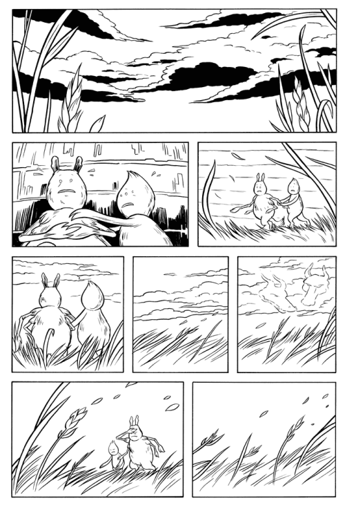 """Hundredth Meridian"" page 7. Take cover!"