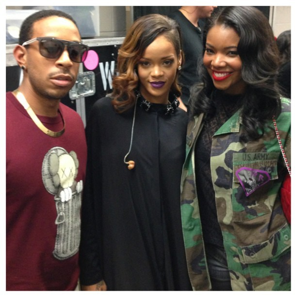 Rihanna - Monday nights in ATL… badgalriri & @ludacris