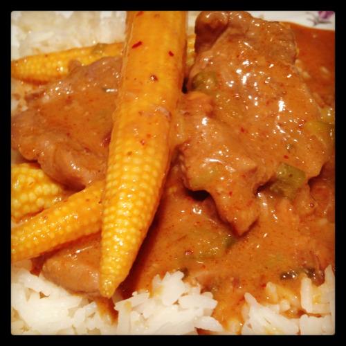 Pork Thai Curry