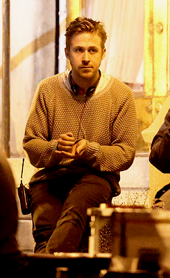 Ryan Gosling on the set of 'How To Catch A Monster' in Detroit - May 18th.