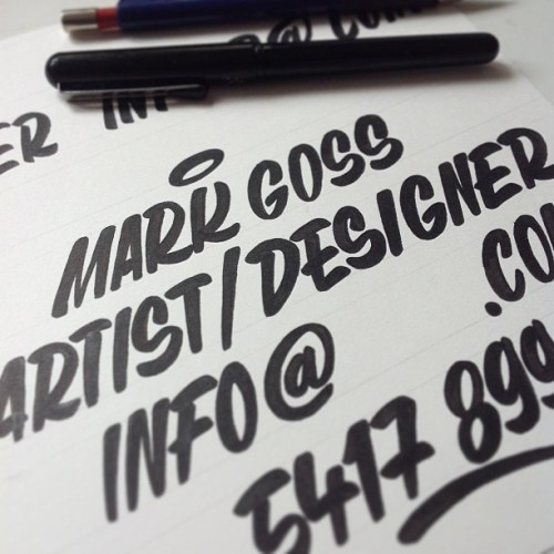 Lettering for new business cards! #typography #art #design #hongkong #hkig