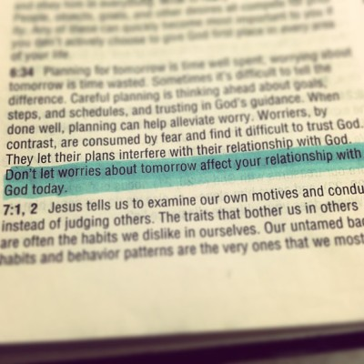 myheartsingsjesus:  Amen. #quiettime #word #reveal #noworries