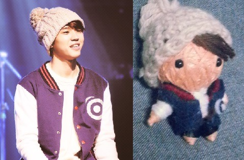 theknottyloft:  Customised Woo Hyun Mini String Doll