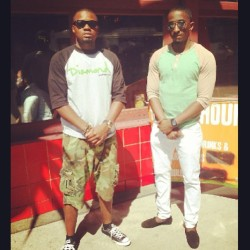 Me and the bro @fred8706 straight kicking it #NYCflow  (at Times Square)
