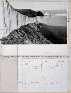 workman:   l-o-v-e-b:  Christo and Jeanne-Claude