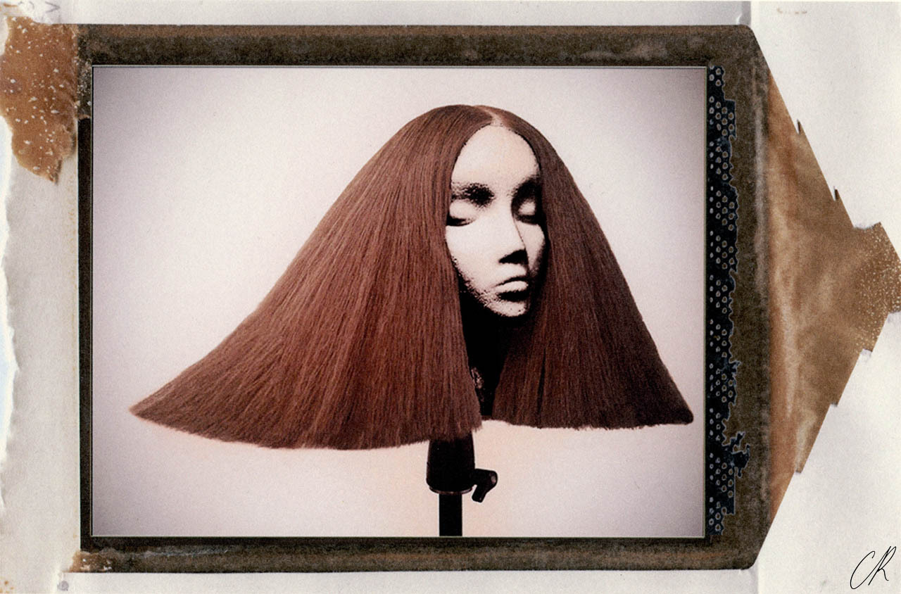 Wigs by Luigi Murenu for Rick Owens spring 2013.