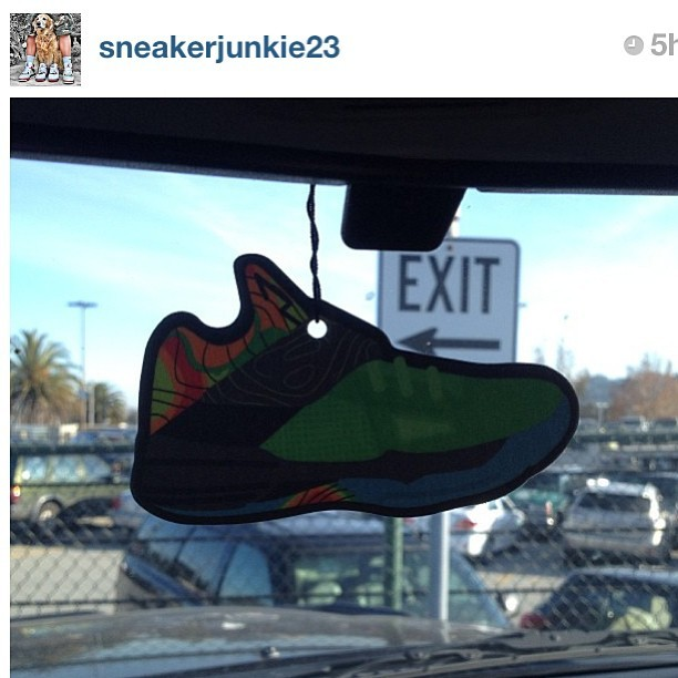 "Another day smelling good!  S/o to @sneakerjunkie23 for repping #deadstocksva get you ""Sneaker Tree"" now @ www.deadstocksva.com  #basketball #sneakerhead #nt #weatherman #retro #durant #sneakers #niketalk #igsneakercommunity  #showmeyourfeetheat #walklikeus #kicksoftheday #wdywt #todayskicks #nikeallday #smyfh  #whatsonyourfeet #sneakerporn #swag #nba #shoeporn #igsneakers #kicks4eva #nike #kdiv"