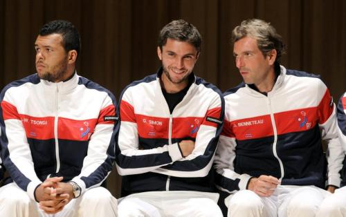 three cute French tennis players :)