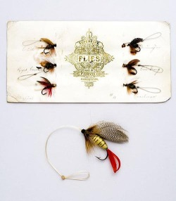 oldfishingphotos:  Antique Orvis Flies Source: Lang's Auction