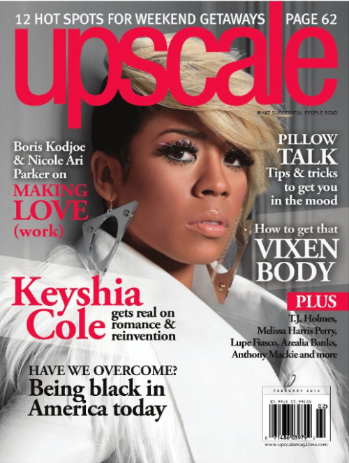 Keyshia Cole - Upscale Magazine Feb '13 issue   Photographer: Derek Blanks Fashion Stylist: Olori Swank MUA: Reginald Dowdley Hair: Darico Jackson