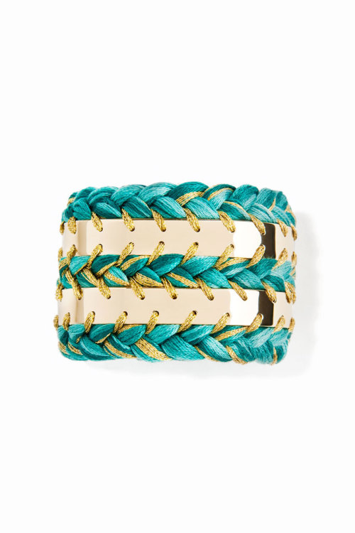 Gorgeous cuff via Aurelie Birdermann. A look you can find in our Terra Collection (2.4.13)