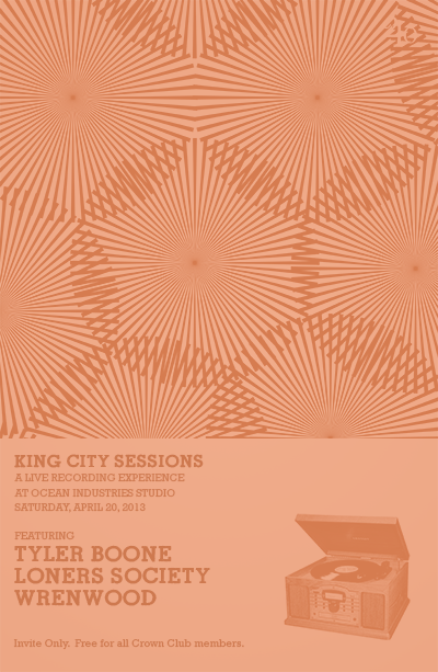 King City Sessions poster.