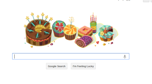 Google knows it's my birthday!