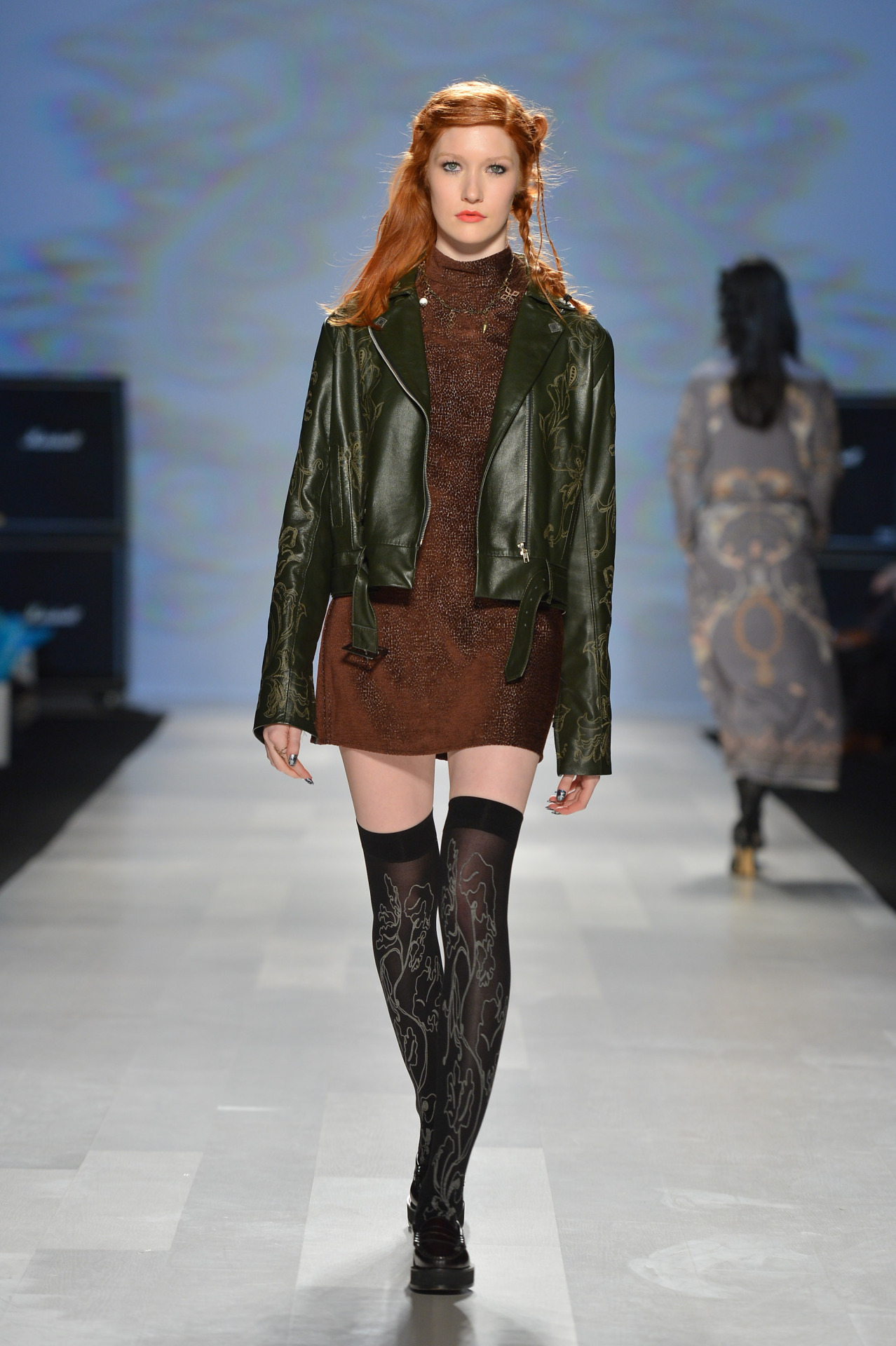 Chloe Comme Parris at Toronto Fashion Week - Fall 2013 / Photographer: George Pimentel See the latest from Canada's capital of fashion.