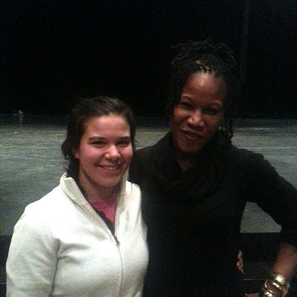 With Majora Carter  #conservation #majoracarter #environmentaldesign
