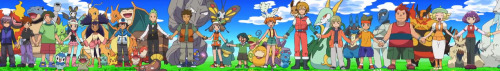 fuckyeahpokemonmoments:  Why the hell aren't Ash, Minty, and Brock holding hands?!