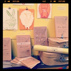 Our top sellers so far at #nyigf state notebooks! #booth7211