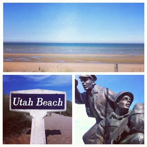 Utah Beach, Normandie