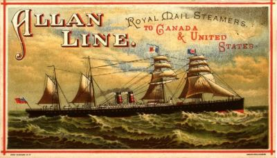 Allan Line; Royal Mail Steamers