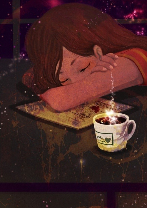 Reading and dreams / Lectura y sueños (ilustración de Noir_Song)