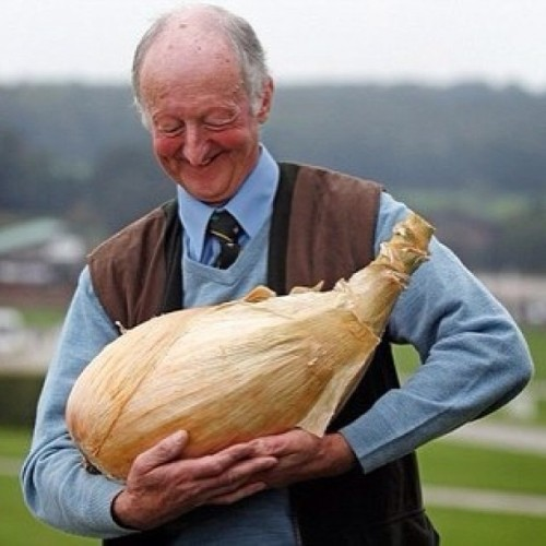 just a man in love with his onion