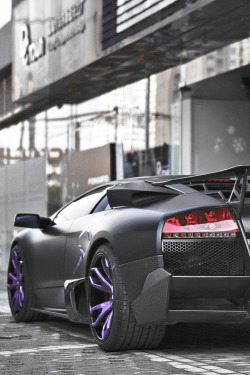 themanliness:  Matte Black & Purple | Source | More