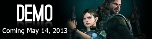 residentevilrevelations:  The long awaited Resident Evil: Revelations HD demo is expected to come out on Tuesday (5/14) for PSN, Xbox LIVE, Nintendo eShop and Steam. Note: The demo will be available on the 15th in EU for PSN.