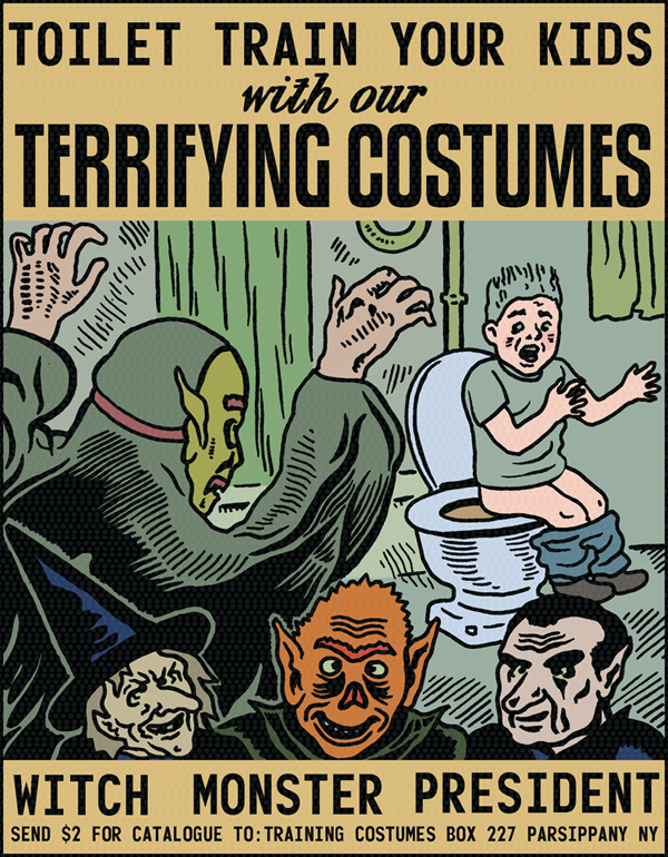 zoomar:  Toilet Train Your Kids with our Terrifying Costumes mkupperman:  Before Halloween.