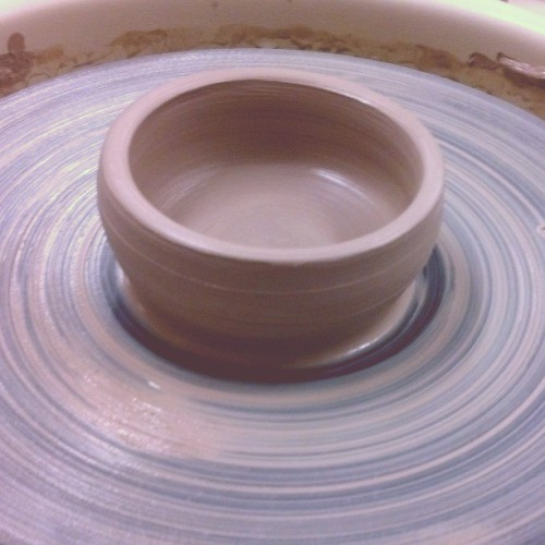 everything I make turns into an ashtray. #ceramics #imadedat