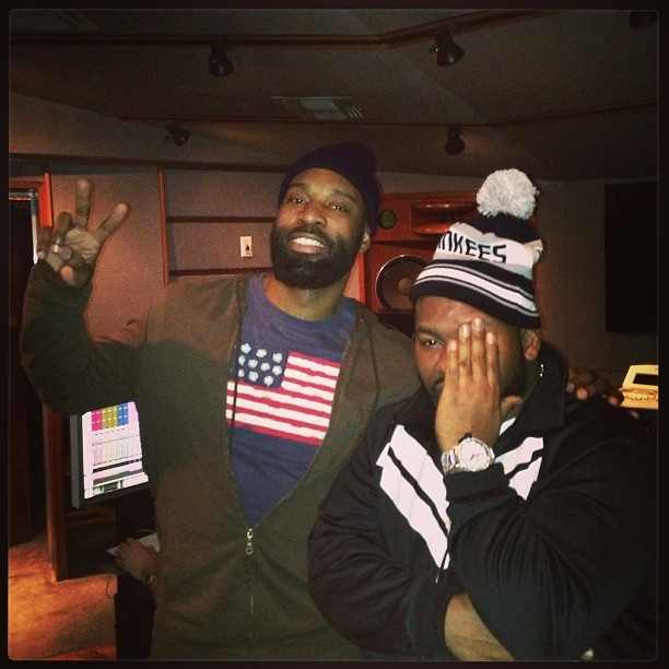 Baron Davis with Raekwon