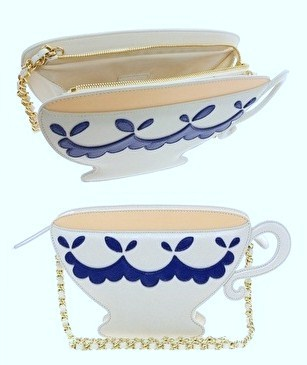 "Cute Moschino ""Tea Time"" bag.  Seriously loving the 'Cheap & Chic' range at the moment!"