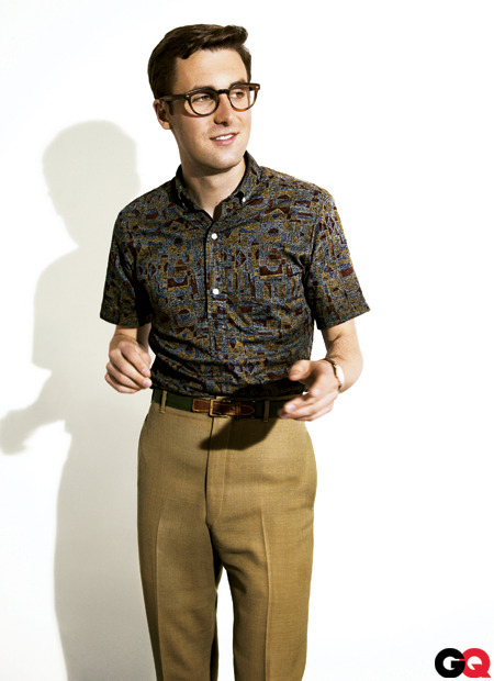 gq:  One of our favorite stylish rebels, Nick Waterhouse, talked to Brooks Brothers about his days in the store and some of the icons that influenced his style. Check it out here and catch our interview with Nick here.
