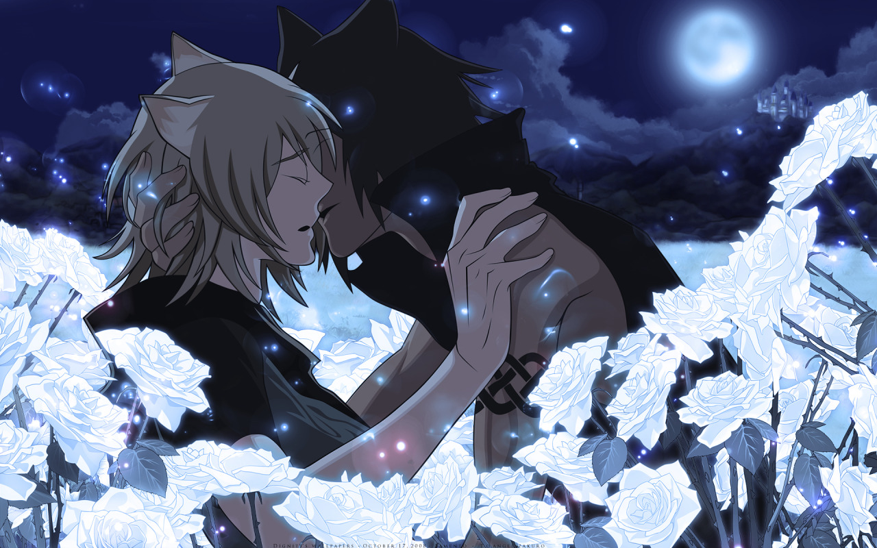 Nitro+CHiRAL Yaoi Anime Wallpapers on We Heart It - http://weheartit.com/entry/50088338/via/Gunji_The_executioner