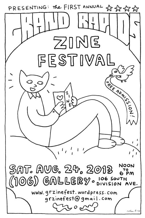strangerdistro:  summer of zines continues!  GR friends- you should go to this.