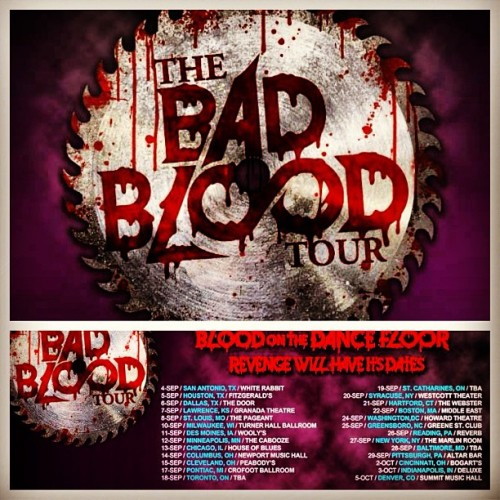 #BadBloodTour ! West coast // UK dates will be up in a few weeks. Who's ready for the bloodiest tour ever?