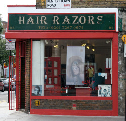 Hair Razors, Kentish Town Road NW1