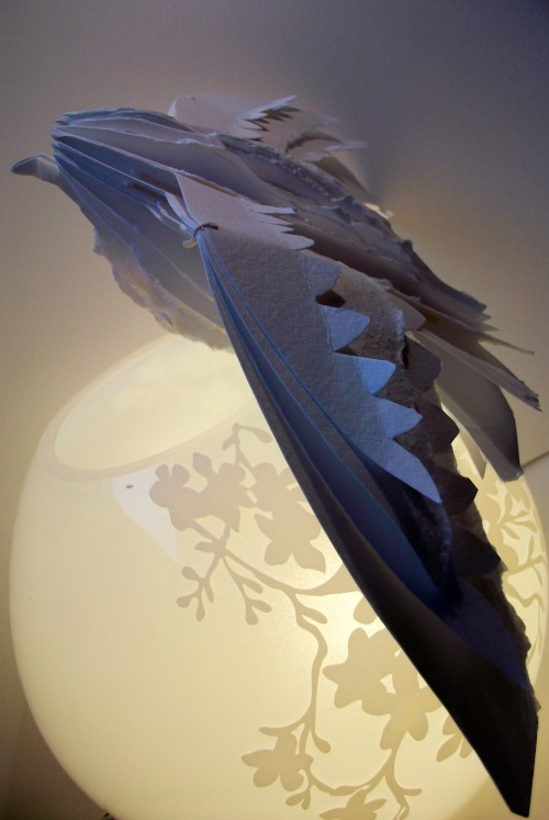 Housemartin - 2010 - Louisa Boyd Hand-bound book sculpture http://www.facebook.com/louisaboydart