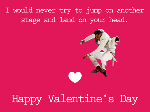 If this were Valentine's Day I'd make this Miguel card.