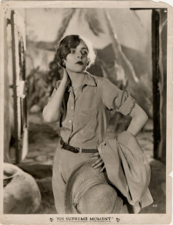 theloudestvoice:  Blanche Sweet in His Supreme Moment, 1925