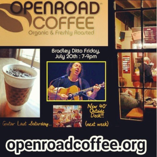 @openroadcoffee  for those who are interested in know where to get great #coffee & a great #coffeeshop  atmosphere in #tryonnc . (at Openroad Coffee)