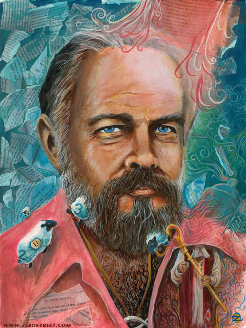 zerostreet:  My painting A PHILIP K. DICK MOMENT will be featured in Author Jeff Kripal's new textbook COMPARING RELIGIONS published by John Wiley & Sons. More details soon.   https://www.facebook.com/ZerostreetArt