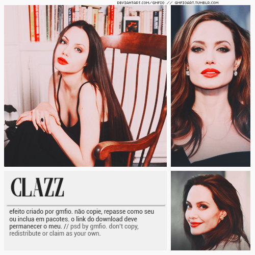 gmfioart: CLAZZ psd by gmfio © dont': - copy, - redistribute, - claim as yours. Download: deviantArt (descriptions) #clazz#red#angelina jolie#red psd#effect#efeito#psd#psd coloring#coloring#photoshop#retro#pinup#red effect#photoshop resources#photoshop psd#oh yeah#itsphotoshop#completeresources#chaoticresources#gmfio#gmanfio