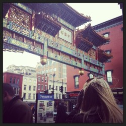 Friendship Arch, Chinatown. @juliexmxphotography #SB13 (at Chinatown Arch)