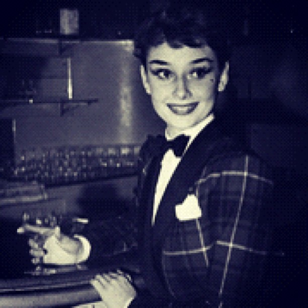 #audreyhepburn #audreyeverlasting #tumblr #vintage #rare #beautiful #hollywood #style #fashion #classic