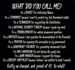 piperhutch-conservativegal:  Got this from Our Patriot Nation on Facebook.