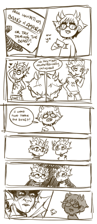 smilingeridan:  zAMI I DREW YOU A COMIC //scREAMS