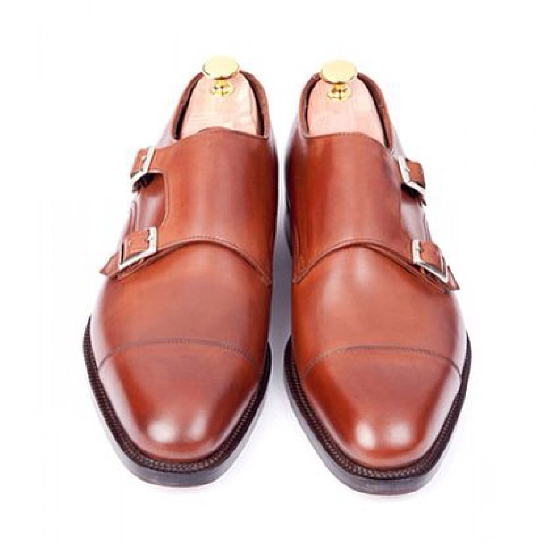 #sidmashburn #shoes #monks #monkstraps #cognac #brown #lino #ieluzzi #sprezzatura #sprezz #menswear