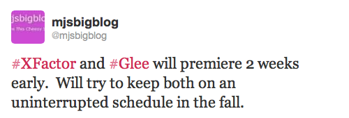 Last season's premiere was on September 13, 2012